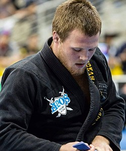 Tommy Lilleskog Langaker from Atos Jiu Jitsu, Haugesund, Norway